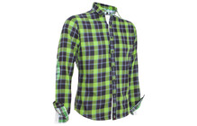 Chillaz Axmen Shirt glencheck green